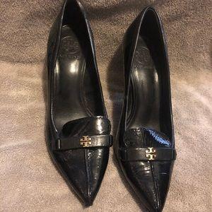 Tory Burch All Leather Heels Sz 7.5